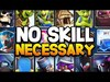 """Ranking TOP 8 """"LOW SKILL"""" Cards In Clash Royale 20..."""