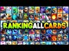 RANKING EVERY CARD in CLASH ROYALE (2020 TIER LIST)
