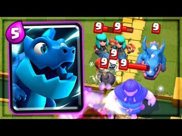 clash royale electro dragon rampage new card review クラロワ